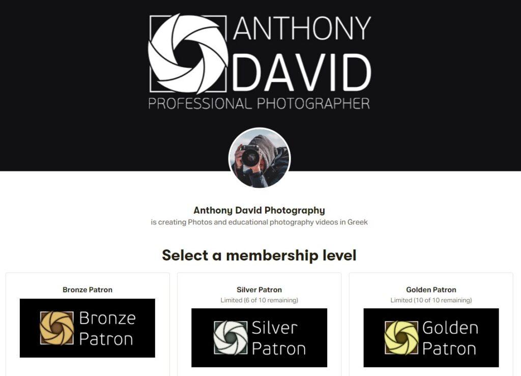 patreon-membership